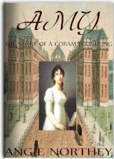 Cover image for AMY, THE STORY OF A CORM FOUNDLING by Angie Northey