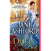 Cover image for THE DUKE KNOWS BEST by Jane Ashford