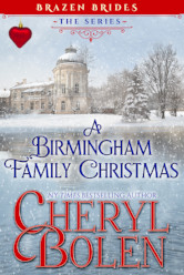 Cover image for A BERMINGHAM FAMILY CHRISTMAS by Cheryl Bolen