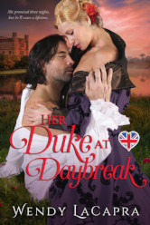 Cover image for HER DUKE AT DAYBREAK by Wendy LaCapra