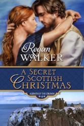 Cover image for A SECRET SCOTTISH CHRISTMAS by Regan Walker