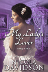 Cover image for My Lady's Lover by Nicola Davidson