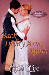 Cover image for Back in My Arms Again by Cora Lee