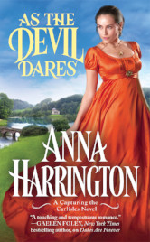Cover image for As the Devil Dares by Anna Harrington
