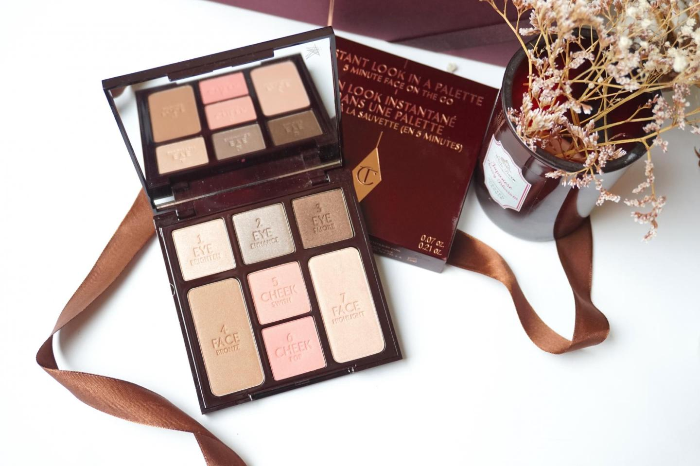 Charlotte Tilbury, Instant Look In A Palette – Seductive Beauty
