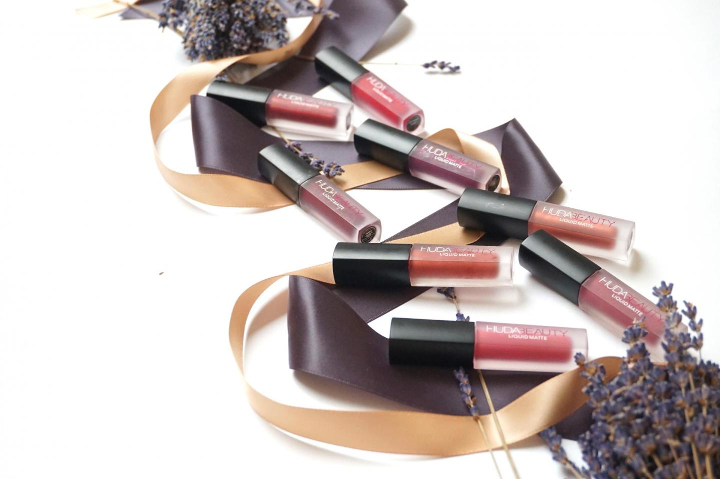 Huda Beauty Liquid Matte Minis, The Pink & Red Edition
