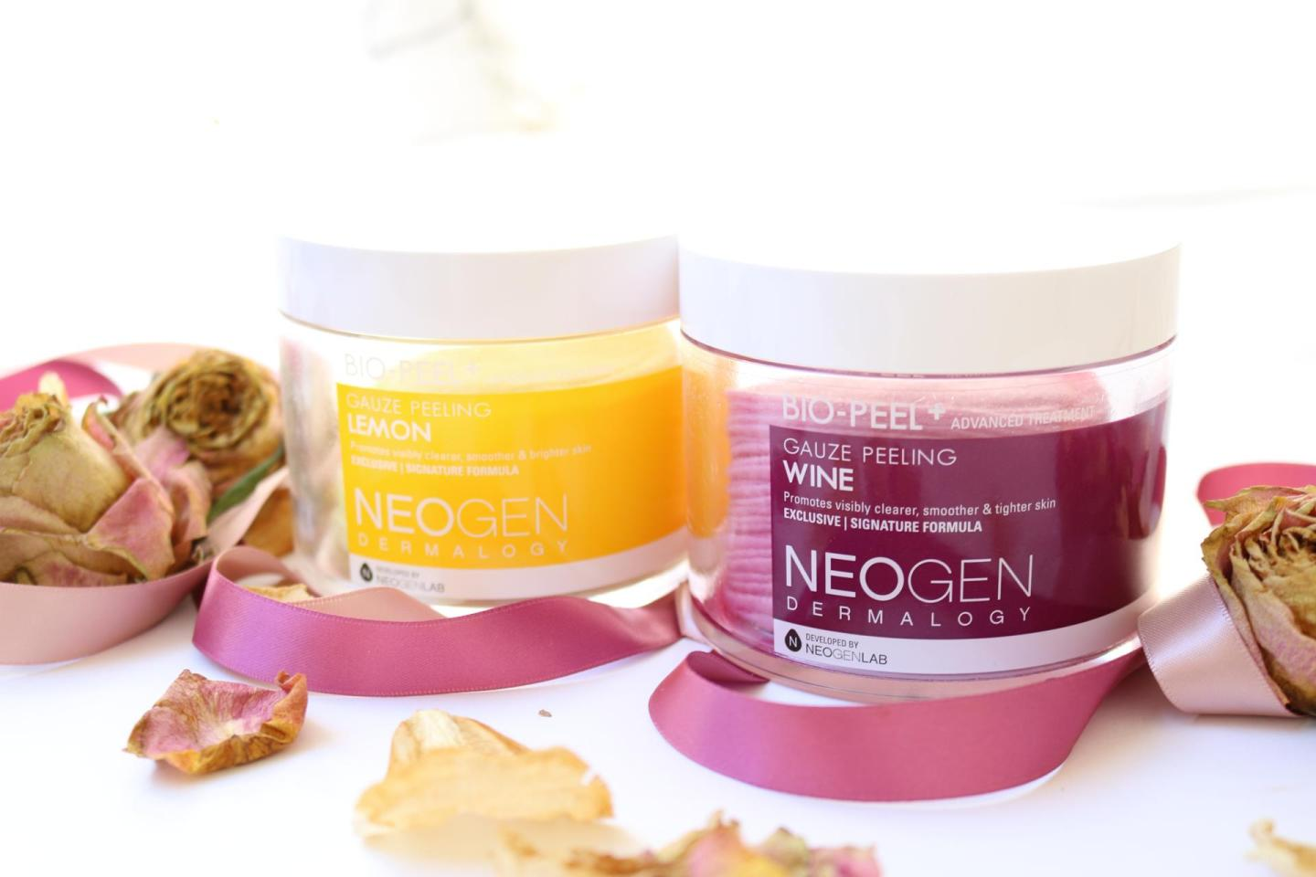 Neogen Gauze Peeling Wine & Lemon + INT. GIVEAWAY