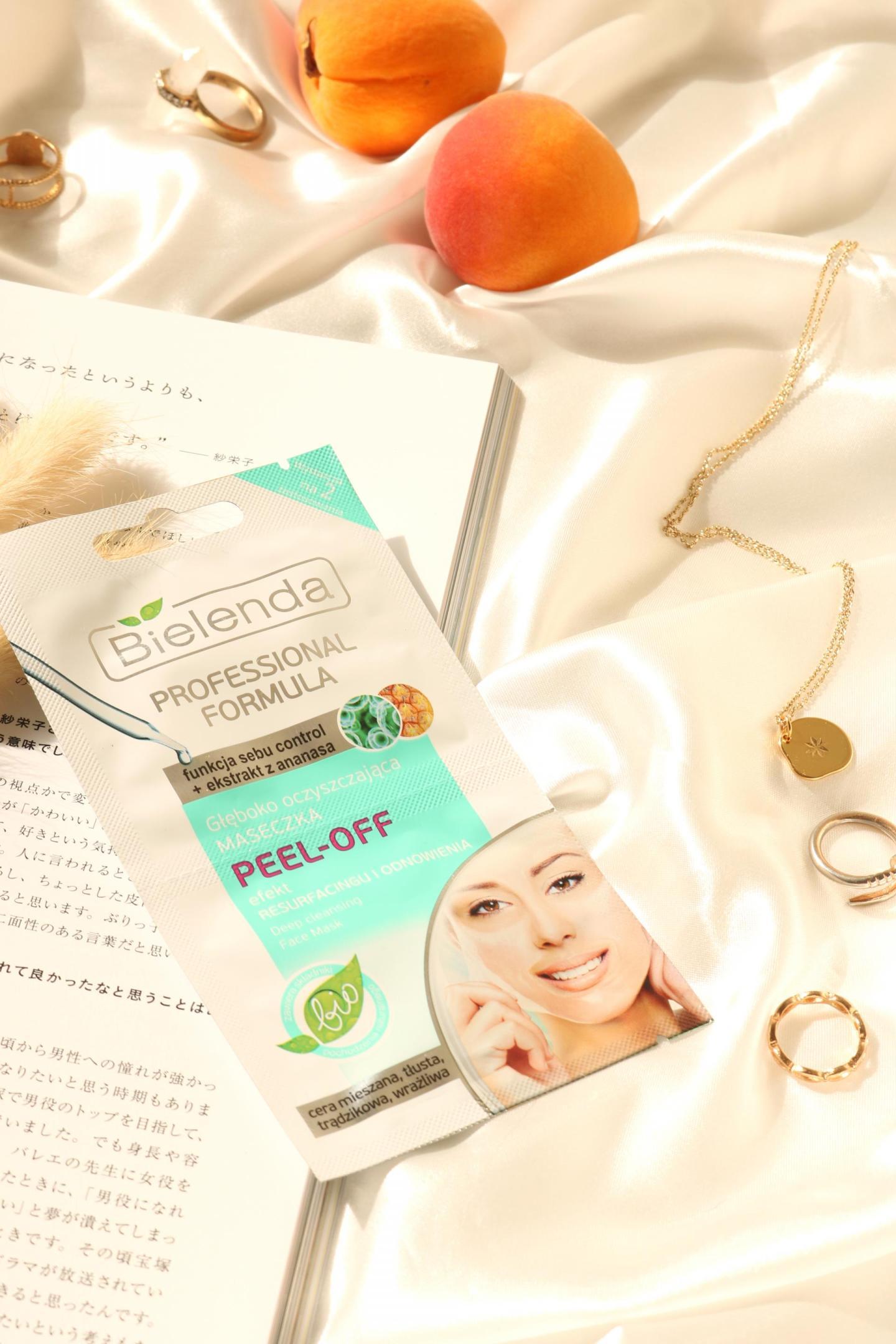 Bielenda Peel-Off Mask unclog the pores