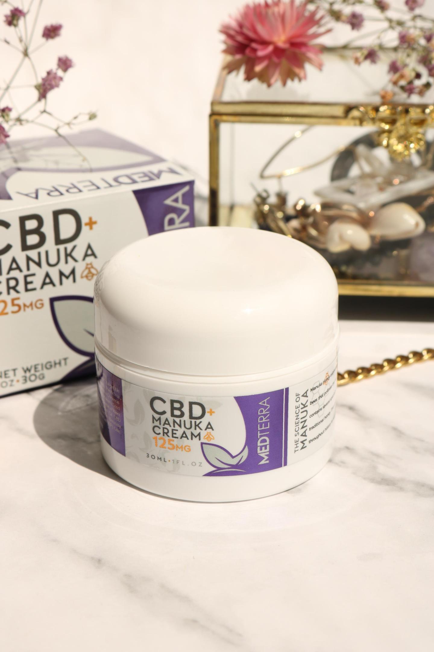 Medterra CBD Manuka Cream