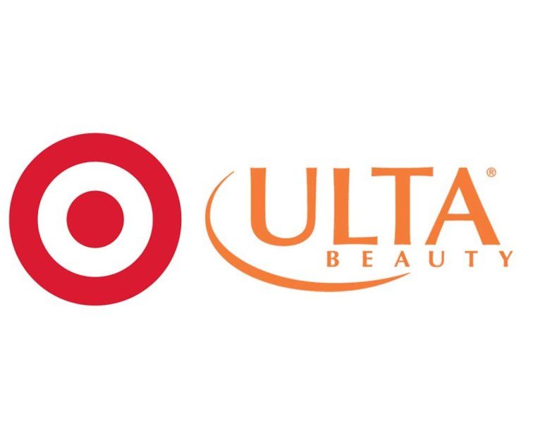 a image of the Target store and Ulta store logos