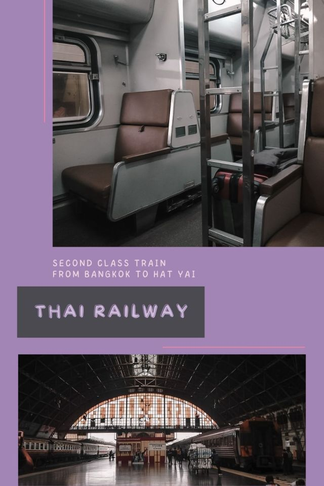 Review: Second Class Train from Bangkok to Hat Yai by Thai Railway - The BeauTraveler