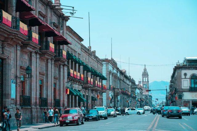 Morelia, Michoacan in Mexico.