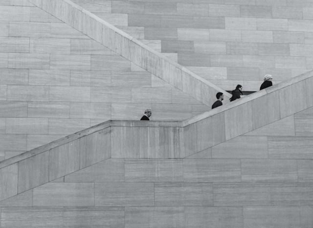 corporate ladder.