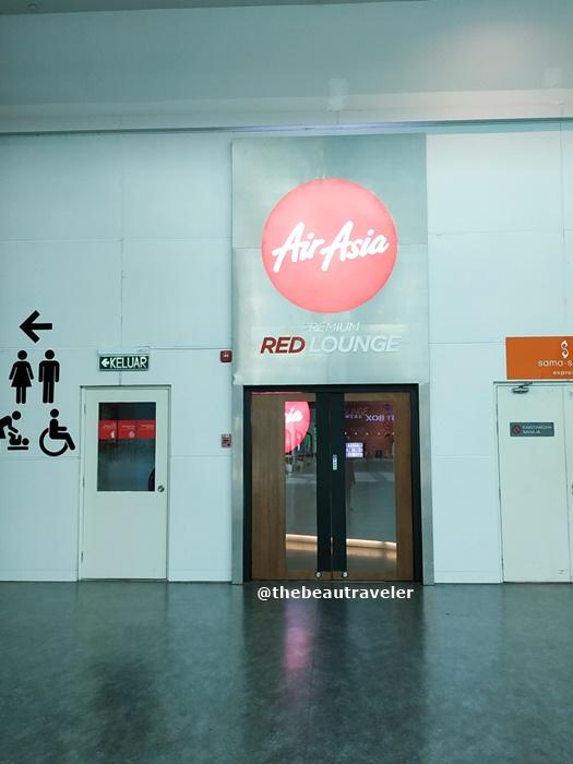 AirAsia Premium Red Lounge at KLIA2.
