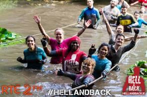 Arlette Bomahou with Team Accenture for the Hell & Back Titan on 10th September 2016