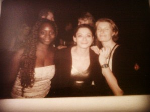 In Amsterdam in 2000 at the Nike Gold party for Christmas