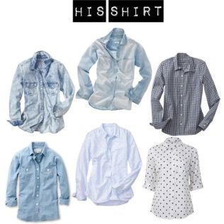 the broken in slouchy button down that you NEVER have to give back