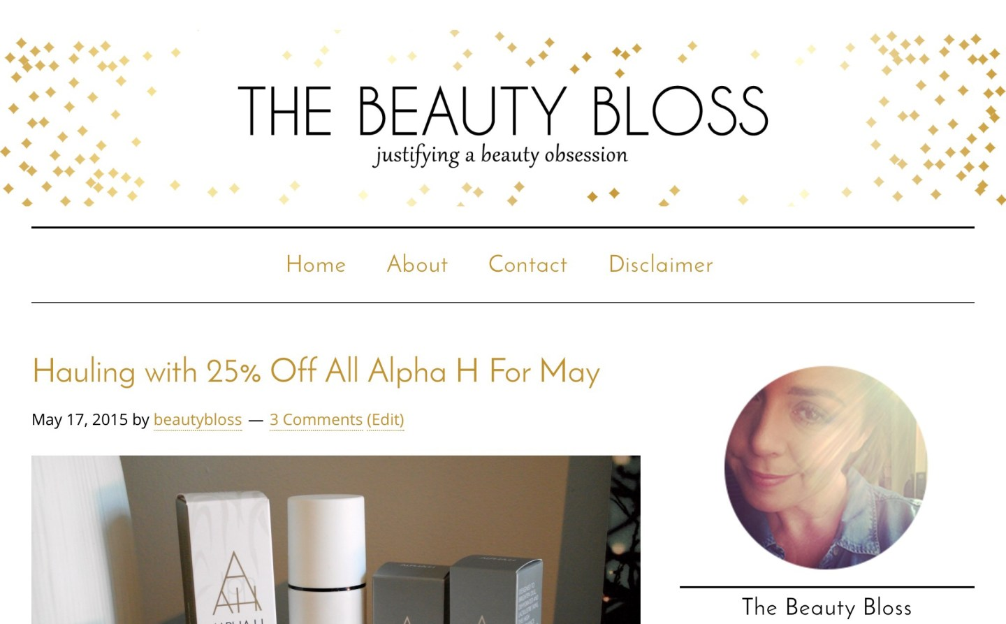 Site Redesign- The Beauty Bloss