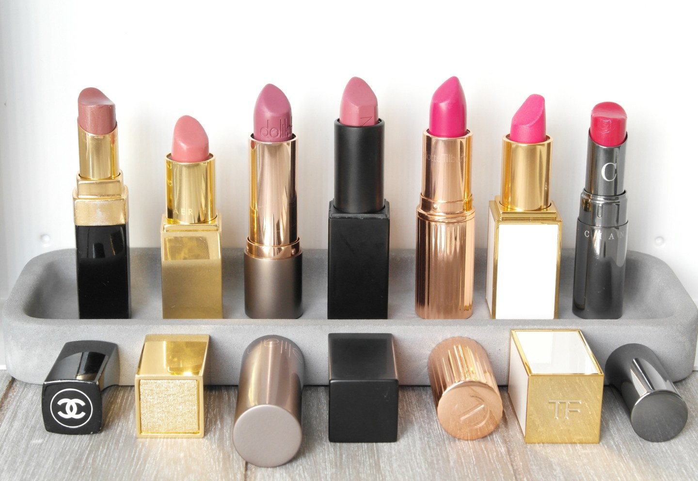 A lipstick for every day of the week
