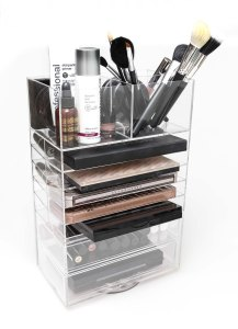 NEW ROTATING MAKEUP ORGANISER - BACK