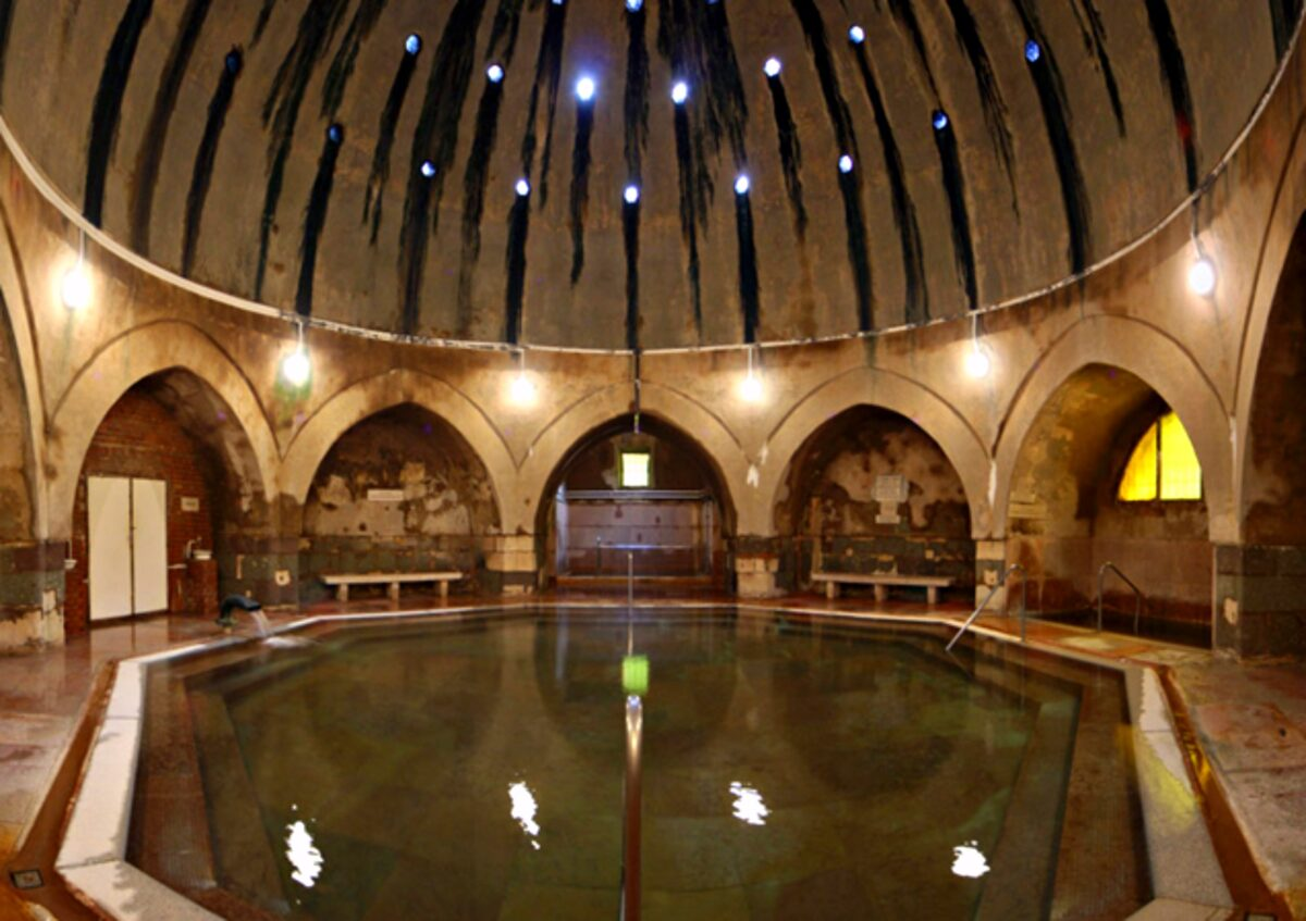 "Kiraly baths - A Guide to Budapest Thermal Baths. Bathing in thermal waters has been part of everyday life in Budapest for centuries. Officially named ""The City of Spas"". which of Budapests baths should you visit. www.awelltravelledbeauty.com"