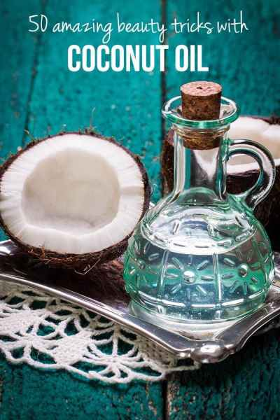 Beauty DIY: 50 amazing beauty tricks with coconut oil