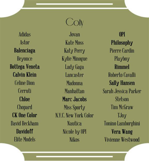 coty beauty brands