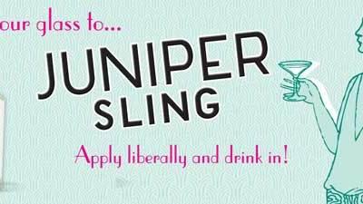 Raise your glass to… Juniper Sling by Penhaligon's