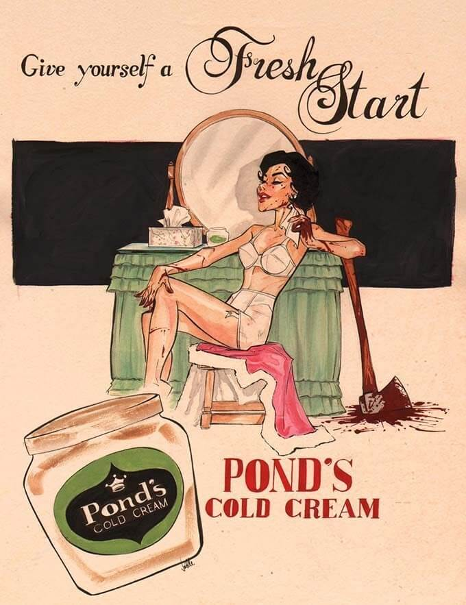 ponds-cold-cream-history