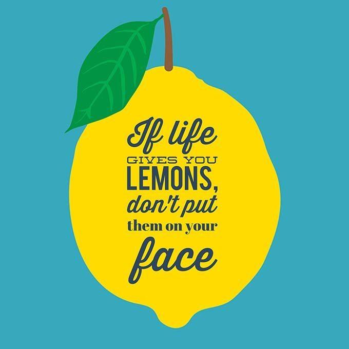lemons-skincare-poster