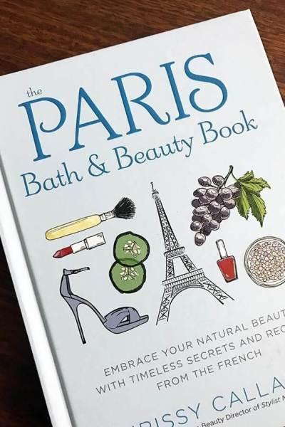 My first book: The Paris Bath & Beauty Book