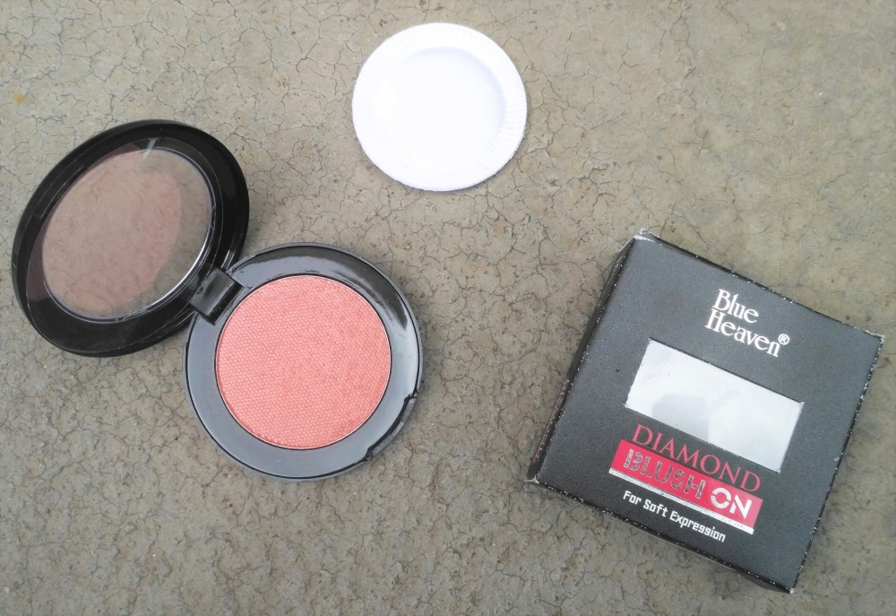 Blue Heaven Diamond Blush On 502 Review Swatches