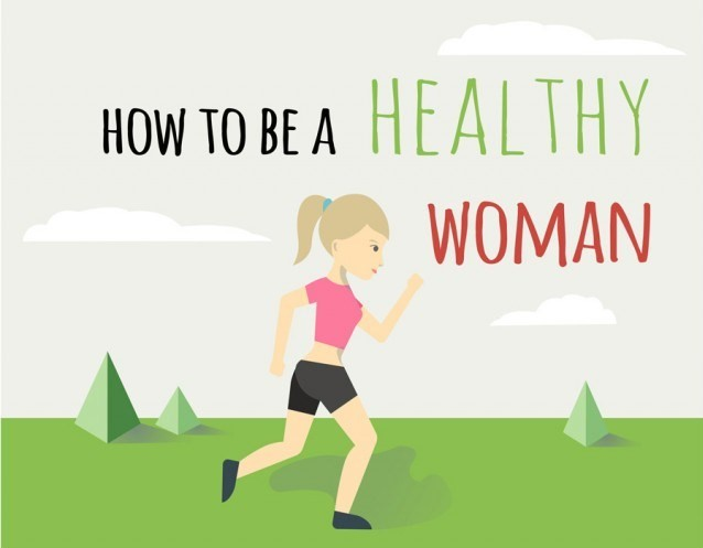 how to be a healthy and hearty woman