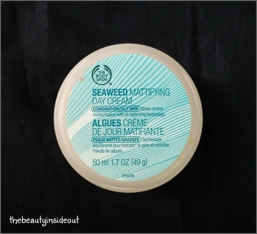 Body Shop Seaweed Mattifying Day Cream