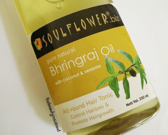 Soulflower Bhringraj Oil Review