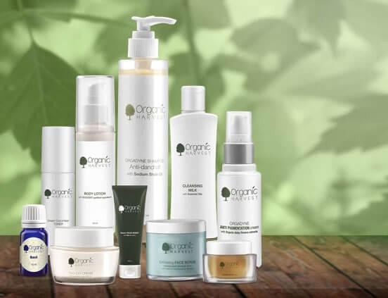 Organic Skincare Brands - Organic Harvest