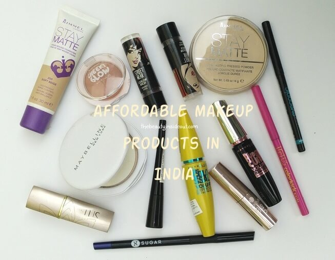 List of Affordable Makeup Products For Beginners in India