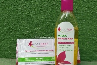 Everteen Natural Intimate Wash & Wipes