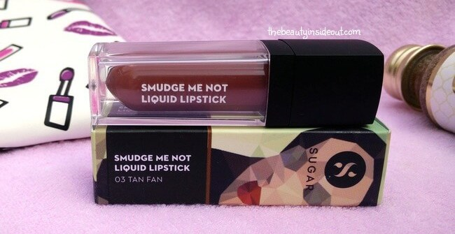February 2017 Fab Bag - Sugar Smudge Me Not Liquid Lipstick