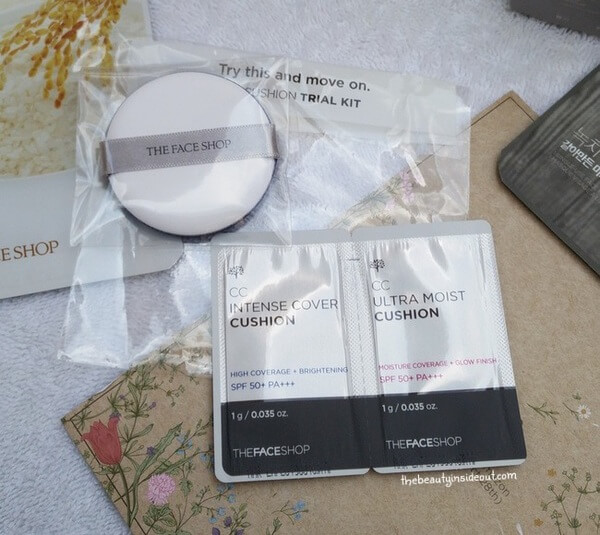 The Face Shop Experience Kit - CC Cushion Trial Kit