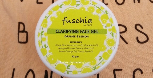 Fuschia Clarifying Face Gel Review