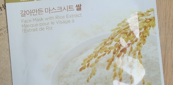 The Face Shop Real Nature Rice Face Mask