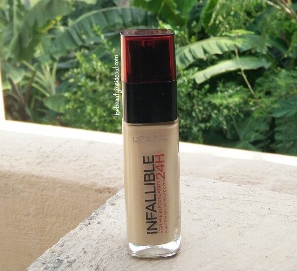 Loreal Infallible Foundation Golden Beige Review