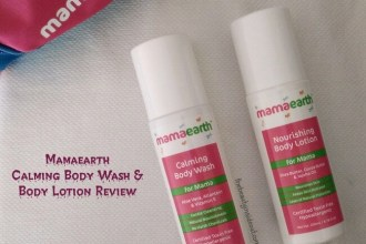 Mamaearth Calming Body Wash and Body Lotion