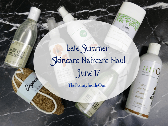 Late summer skincare haircare haul June'17