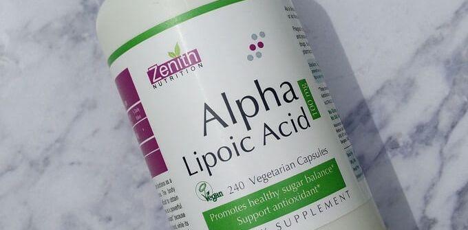 Zenith Nutrition Alpha Lipoic Acid