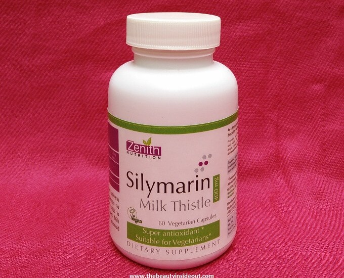 Zenith Nutrition Silymarin Milk Thistle Review