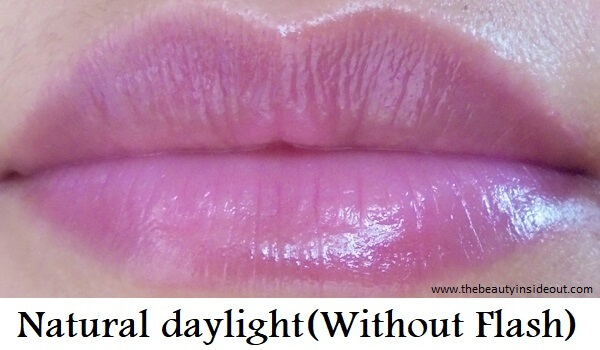Maybelline Baby Lips Candy Rush in Gummy Grape Swatch
