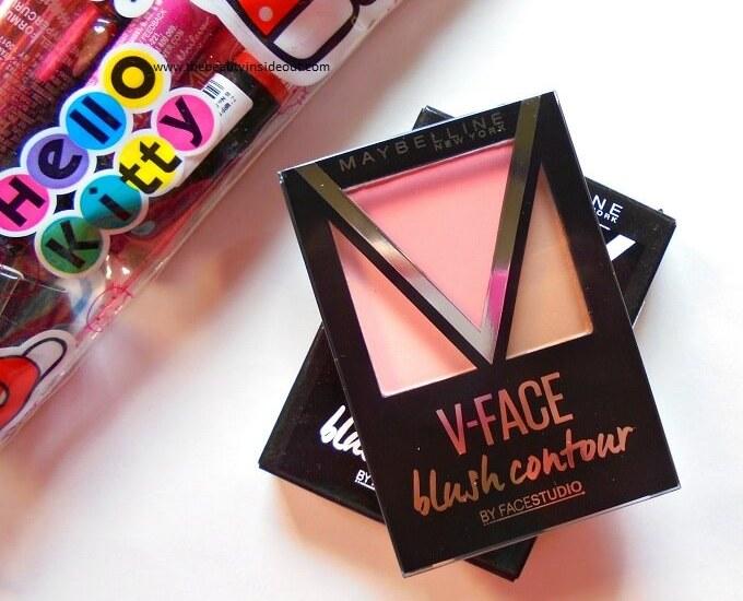 Maybelline FaceStudio V-Face Blush Contour Review