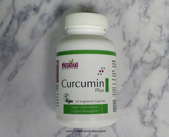 Zenith Nutrition Curcumin Plus Review